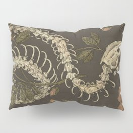 Snake Skeleton Pillow Sham