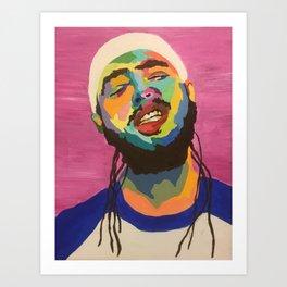 Posty Art Print- Sarah Paints Rappers Art Print