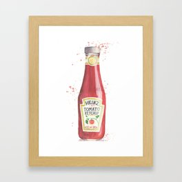 Can you Ketchup? Framed Art Print