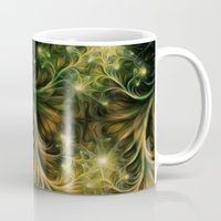 fireflies Mugs featuring Fireflies by Happi Anarky