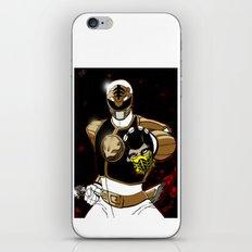White Ranger Vs. Scorpion iPhone & iPod Skin