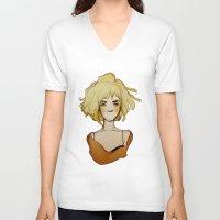 medicine V-neck T-shirts featuring medicine by Ludmila