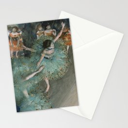 Swaying Dancer - Edgar Degas Stationery Cards