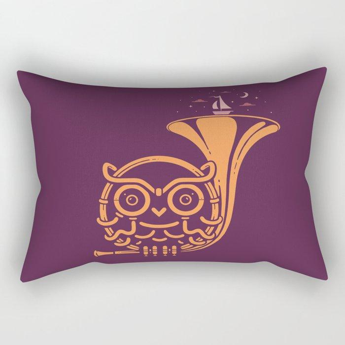 Sunset Melody Rectangular Pillow