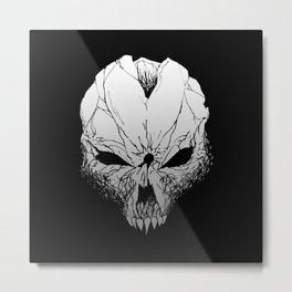 Skull. Just skull.  Metal Print