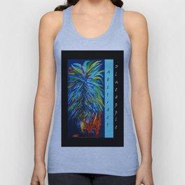 Abstract Pineapple Unisex Tank Top