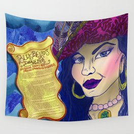 Bluebeard's Daughter  Wall Tapestry