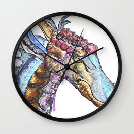 Taggen the Dragon Wall Clock