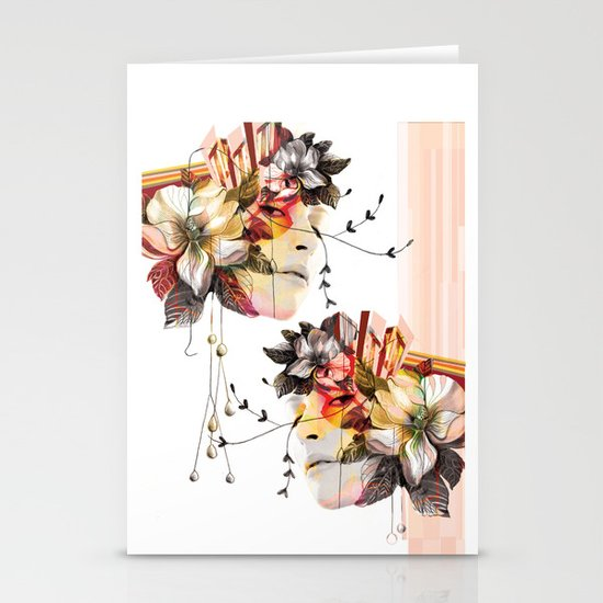 Double Vision 2 Stationery Cards