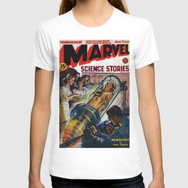 Science Stories / comic magazine cover T-shirt