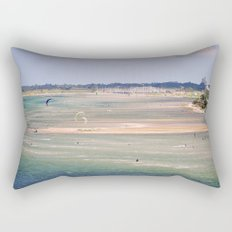 kitesurfen landscape Rectangular Pillow