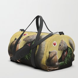 Mr. Squirrel Loves His Acorn! Duffle Bag