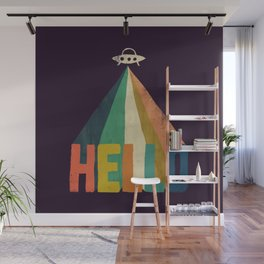 Hello I come in peace Wall Mural
