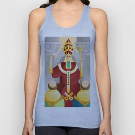 tarot fifth card the pope the hierophant Unisex Tank Top