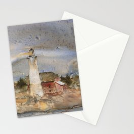Menagerie Island Lighthouse Stationery Cards