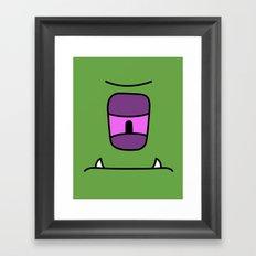 Monster - Jee Framed Art Print