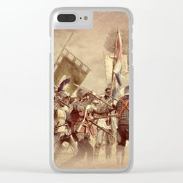 Battle of Bosworth Clear iPhone Case