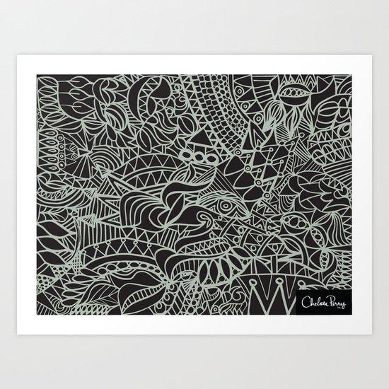 Lux Tux Art Print