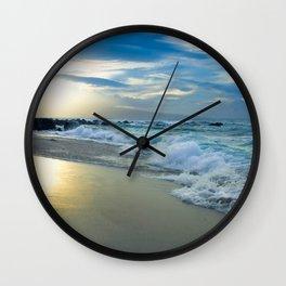 One Dream Sunset Hookipa Beach Maui Hawaii Wall Clock