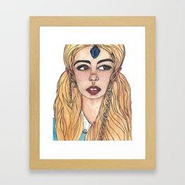 Blue Elite Framed Art Print