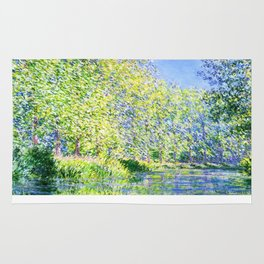 Monet: Bend in the River Ept Rug