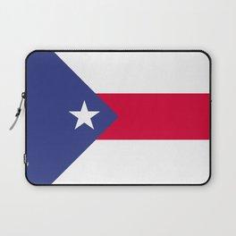 Puerto Rico flag emblem Laptop Sleeve