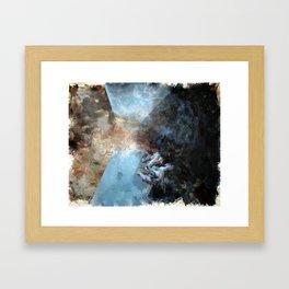 Fallen Framed Art Print