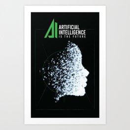 Artificial Inteligence Art Print