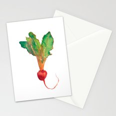 red beet Stationery Cards