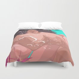 You Gotta Go Inwards Duvet Cover