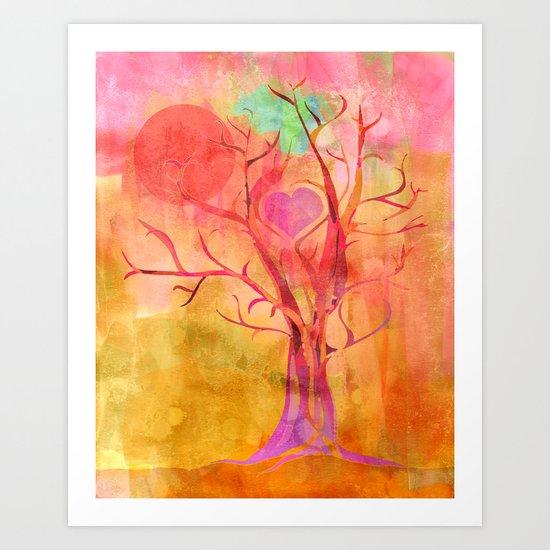 All Creation Sings Art Print