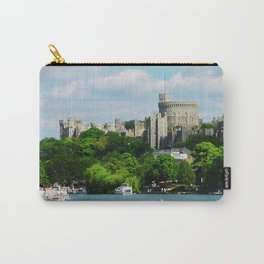 Windsor Castle from the River Thames Carry-All Pouch