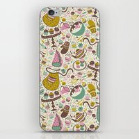 cupcakes iPhone & iPod Skins featuring Cupcakes  by Anna Deegan