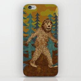 Bigfoot birthday card iPhone Skin