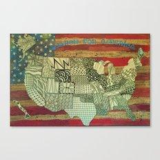 Search for America Canvas Print