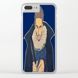 Willy Shakes Clear iPhone Case