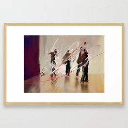 portrait of ripp greatbatch Framed Art Print