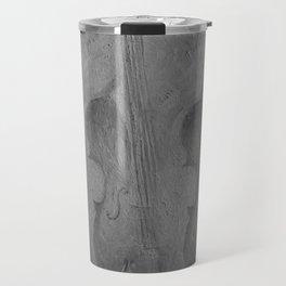 Violin by Lu, black-and-white Travel Mug