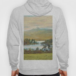 Hand Colored Photograph of Mt. Chocoura, New Hampshire 1920 Charles Henry Sawyer Hoody