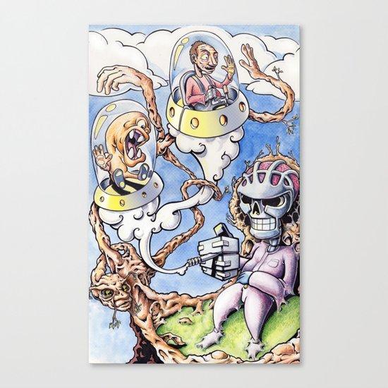 Nightman Cometh Canvas Print