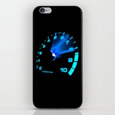 REV COUNTER iPhone & iPod Skin