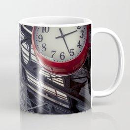 Red clock Coffee Mug