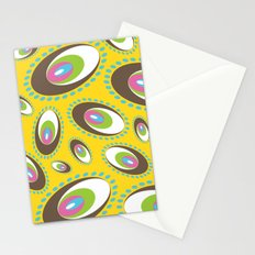 Ovoid Explosion Stationery Cards