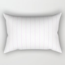 Pink Pinstripes Rectangular Pillow