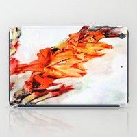 artsy iPad Cases featuring gladioli Artsy by Artsy Arts By Rosanna.