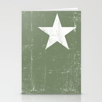 army Stationery Cards featuring ARMY by mauromod