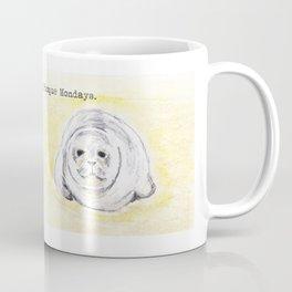 Phoque Mondays Coffee Mug