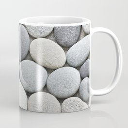 Grey Beige Smooth Pebble Collection Coffee Mug