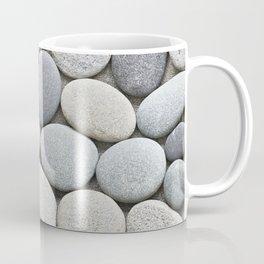 Grey Beige Smooth Pebble Collection Coffee Mug