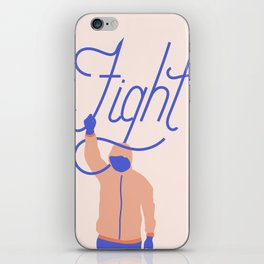Fight iPhone Skin